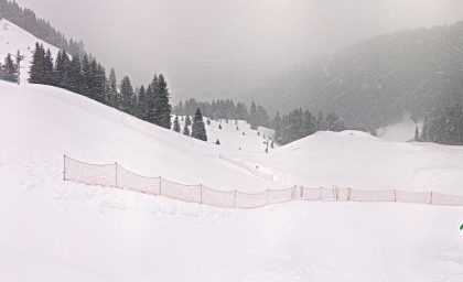 Meer stuwing, meer sneeuw