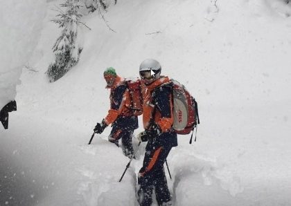 9 Skiërs gered door bergredding in Zell am See